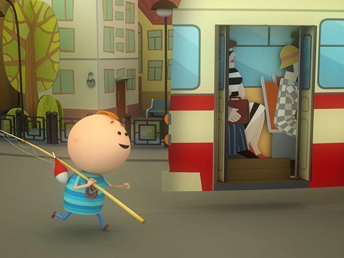 Кадры из мультфильма «Аркадий Паровозов»