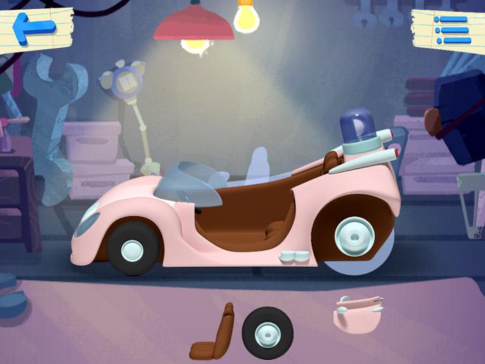 Кадры из игры «Ми-ми-мишки»