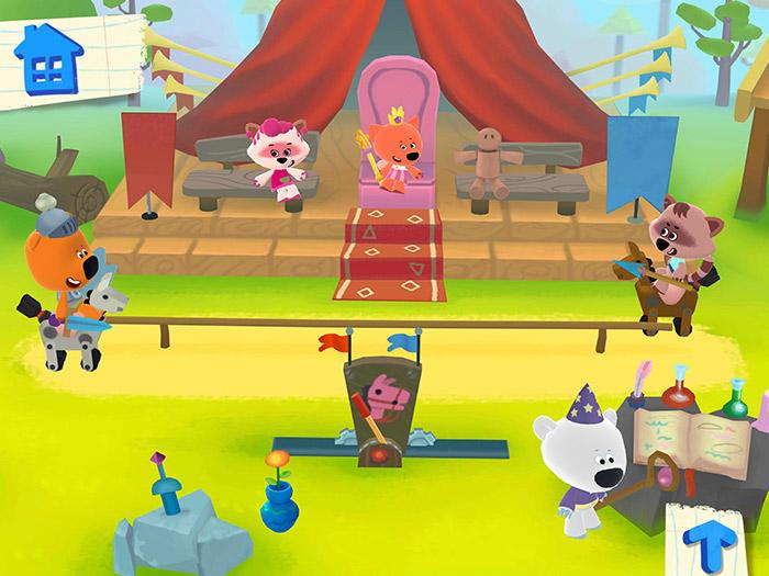 Кадры из игры «Ми-ми-мишки 2»