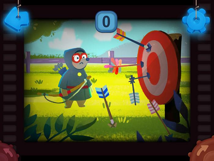 Кадры из игры «Волшебный фонарь»